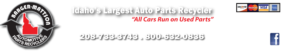 Used Auto & Truck Parts in Idaho